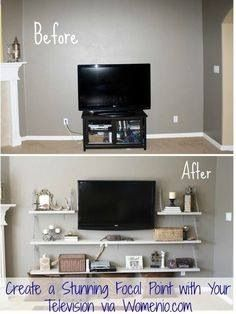 Living Room Decorating Ideas on a Budget - Living Room Design Ideas, Pictures, Remodels and Decor Transform a space!
