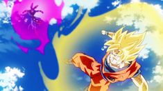 #4 Ssj Goku vs Beerus. Between the fast paced fight entwined with the amazing music and the classic golden super saiyan glow. This scene just was one of my favorites of all time. #Wolfthekid