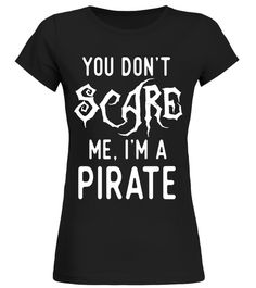 Funny Pirate Shirts Halloween Costume Joke Gag Kids Gifts