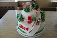 Tolga 5 yaş pastası