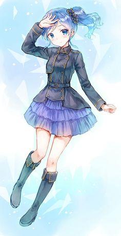 Ya he dicho muchas veces que Adoro el Anime, y claramente tambien Adoro lo kawaii. Pues Nada, que aquí hay imagenes kaw...