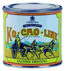Pink, thick, and greasy, use Ko-Cho-Line Leather Dressing as a waterproofer on everyday tack and to soften and restore old hardened leather. Also fantastic for prepping leather for storage - a good co