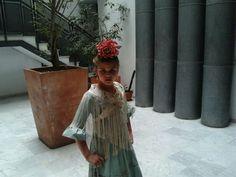 Flor gitana, pintada a mano Carmen Garcia Enrile