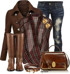 Chic Outfits | In Brown