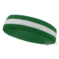 Green white green wholesale headband sweat 2color stripe Pink And White  Stripes b03b11265