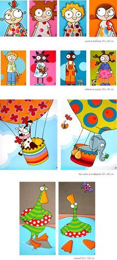 YO NO FUI ! - Cuadros infantiles - : TRÍPTICOS Y DÍPTICOS (VARIOS)