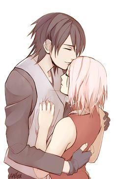Sasuke and Sakura.........