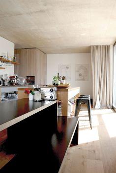 loft in graz - Möbelbau Breitenthaler, Tischlerei Loft, Kitchen, Home Decor, Graz, Carpentry, Homes, Cooking, Decoration Home, Room Decor