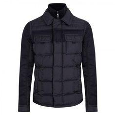 2015 Moncler Blais Feather Down Padded Jacket Black MW201503006
