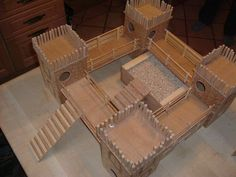 Hamster castle: