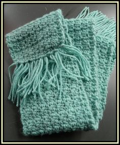 Free Crochet Patterns for the Beginner and the Advanced: Crumpled Griddle Crochet Scarf, Video and Stitch Pattern