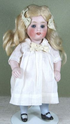 doll KESTNER All Bisque 150 6 1/2 Character Doll - Google Search