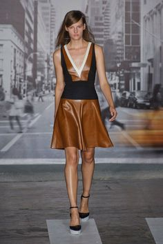 Spring Leather: DKNY