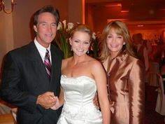 Days John and Marlena with their daughter Belle