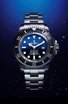Rolex Deepsea D-Blue dial #rolexdeepsea #rolexwatches #majordor