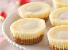 Miniature Peanut Butter Cheesecakes Recipe