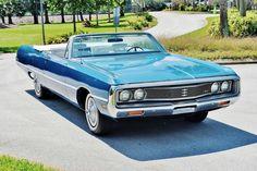 1969 Chrysler Newport convertible