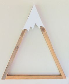 SET OF 3 Woodland Nursery Mountain Shelf Room Decor by DreamState