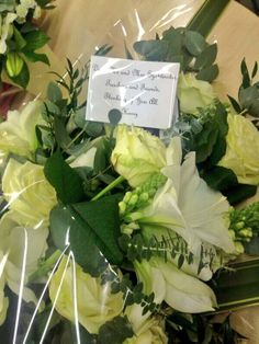 Harry sent Magda's mum and dad flowers recently!  AWH HE IS THE MOST SWEETEST PERSON IN ALL THE WORLD :) ♥