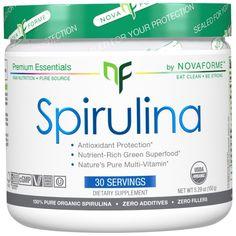 Super sale! NovaForme Certified USDA Organic Spirulina on #iHerb Only $11,99 #RT 70% OFF (discount visible in cart)