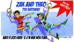 party invite Party Invitations, Invite, Family Sketch, Twin Boys, 7th Birthday, My Family, Valencia, Rsvp, Twins