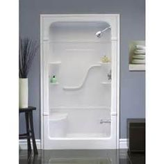 one piece fiberglass shower stalls - Bing Images
