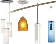 Tech Lighting Line Voltage Pendants - Brand Lighting Discount Lighting - Call Brand Lighting Sales to ask for your best price! Contemporary Lighting, Discount Lighting, Tech Lighting Pendant, Tech Lighting, Lightolier, Lighting, Lights, Track Lighting, Lighting Sale