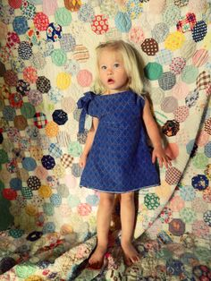 Sewing Series: Girls A Line Dress