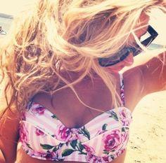 Love her bikini top <3