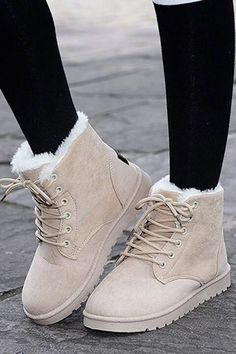 Ankle Boots For Women Casual Winter Snow Boot Winter cute outfits casual snow boots Fall chic classy street styles edgy ootd Inspiration ideas fallfashion winterfashion outfits ootd Timberland Boots, Ugg Boots, Shoe Boots, Ankle Boots, Short Winter Boots, Warm Winter Boots, Winter Coats, Shoes For Winter, Outfit Winter