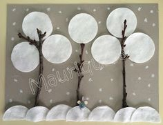 Kids Crafts, Snow Crafts, Diy And Crafts, Winter Activities, Craft Activities, Preschool Education, Winter Art, Christmas Art, Kids And Parenting