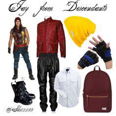Jay from Descendants Family Halloween, Disney Halloween, Halloween Costumes, Disney Costumes, Estilo Disney, Descendants Costumes, Disney Descendants, Disney Men, Cute Disney