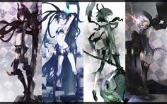 anime:black rock shooter