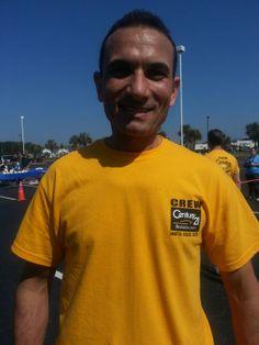 Mohammad the Marathon Man!