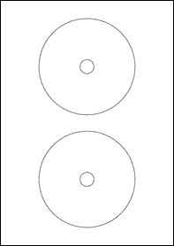 Template For Avery 5931 Cd Labels 8 12 X 11 Avery Art