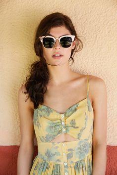 Dress & glasses. Vintage