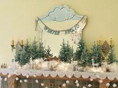 Winter mantle - hanging snow balls