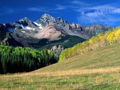 i have wanted to visit colorado since i was little. i'd actually love to live here.