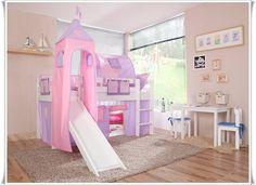 Etagenbett Weiß Mit Rutsche : 43 besten hochbett mit rutsche bilder auf pinterest kids room