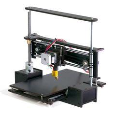 "TwoUp 3D Printer Kit 7"" x 7"" x 5"" Build Dimensions 50 Micron 1.75mm PLA…"