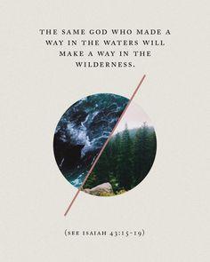 Isaiah 43:15-19 | pinterest & insta ↠ @missmegs0802