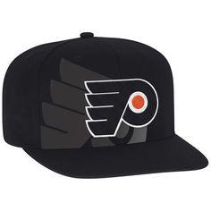philadelphia flyers reebok 2017 stadium series flat brim snapback adjustable hat black