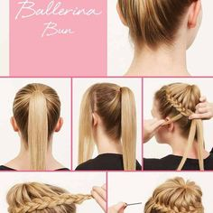 Cute And Easy Side Twisted Bun - DIY Hairstyle - AllDayChic