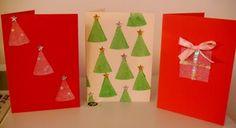 Χειροποίητες Χριστουγεννιάτικες κάρτες!