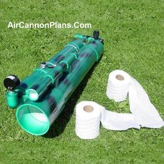 Build It Yourself Toilet Paper Bazooka Air Cannon Plans include detailed fabrication and assembly instructions with pictures Pvc Projects, Science Projects, Air Cannon, Wood Shed Plans, Homemade Weapons, Air Rifle, Cool Gear, Air Tools, Cool Toys