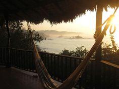 Water sun hammock