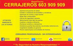 Cerrajeros de Camas, Sevilla 603 908 603, calidad sin intermediarios.
