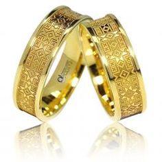 Verighete ATCOM Lux ILINCA aur galben Bangles, Bracelets, Gold Rings, Rings For Men, Wedding Rings, Rose Gold, Engagement Rings, Jewels, Women