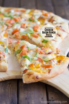 A favorite flavor combination, this pizza is topped with ranch dressing, chunks of chicken and crispy bacon. Photo and Recipe Updated January 2014 I have a secret to share as a food blogger. I love it when the time changes. If you are a food blogger – or if you've ever tried to take a...