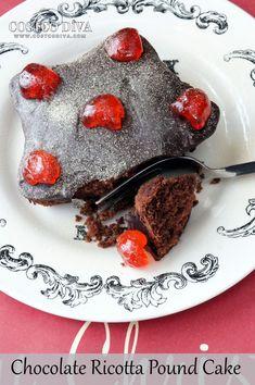 Chocolate Ricotta Pound Cake (with GF option)